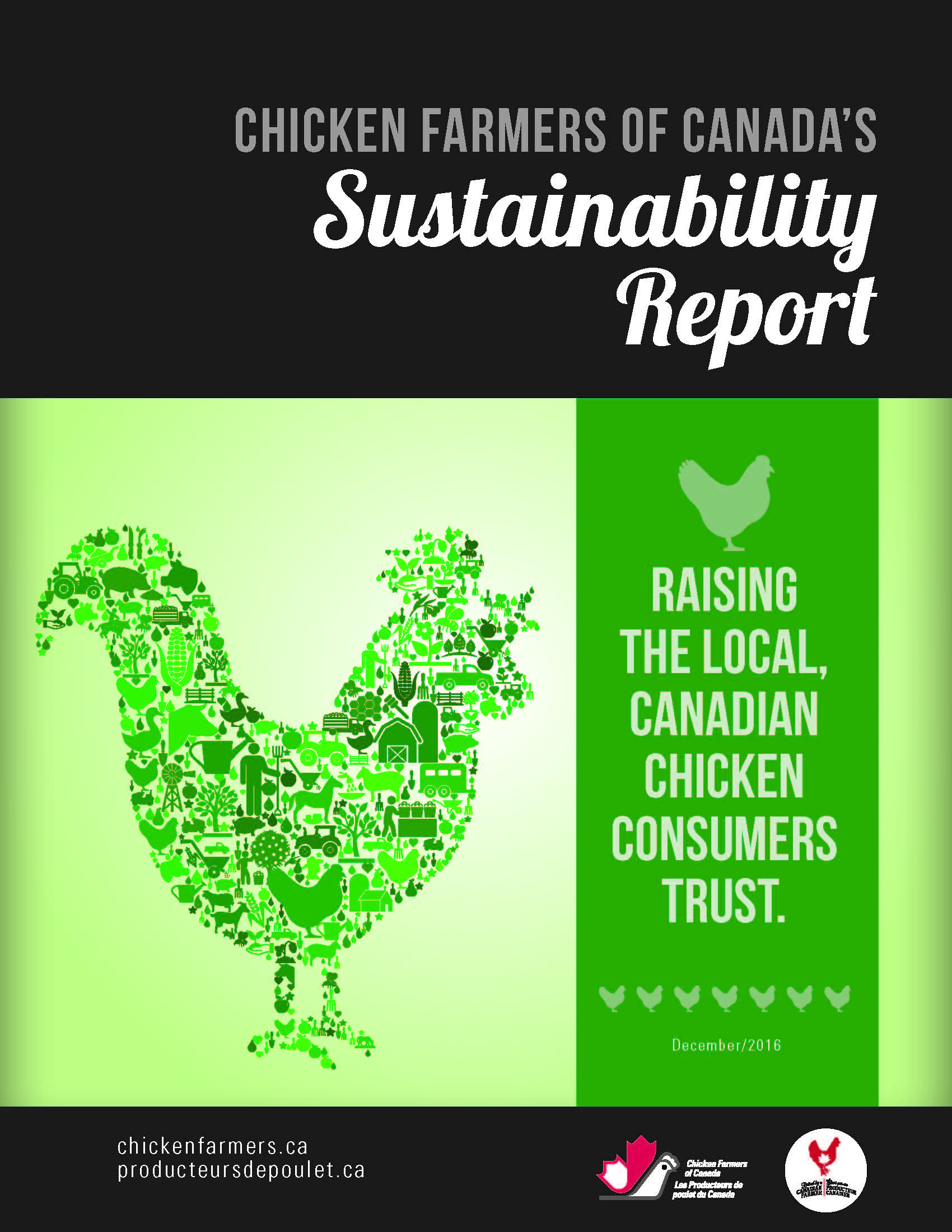 Chicken Farmers of Canada 2017 Sustainability Report