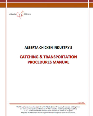 Catching & Transportation Procedures Manual