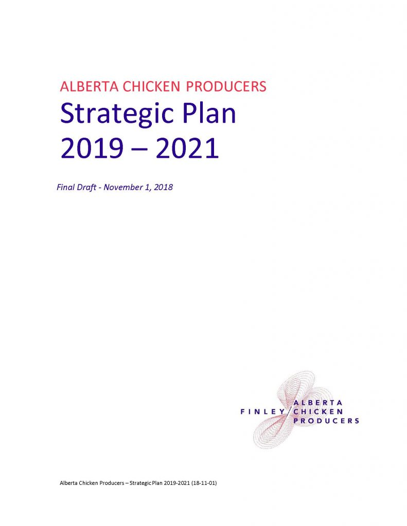Strategic Plan 2019 2021
