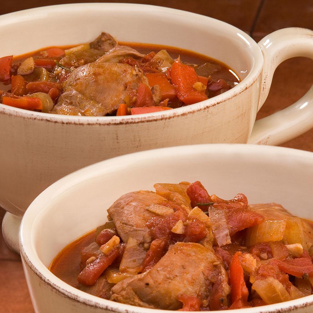 Mediterranean Style Chicken Recipe: Mediterranean Style Chicken Stew